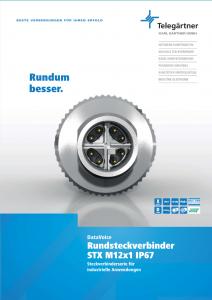 STX M12x1 - brochure downloaden